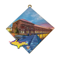 Hanging Tile ~ Cloverland Hydro Plant Sault -0756  Michigan Wall Art