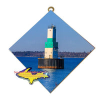 Escanaba Harbor Light Michigan's Upper Peninsula Art Gifts Collectibles