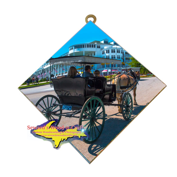 Unique Michigan Gifts Mackinac Island Grand Hotel Home Decore