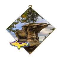 Michigan Hanging Wall Art Pictured Rocks Chapel Rock Munising Gifts