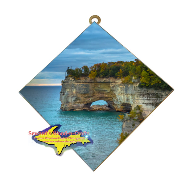 Pictured Rocks Grand Portal Michigan Amazing Scenery Wall Art Home And Gifts