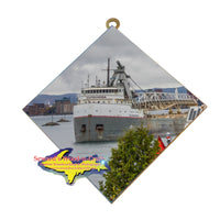 Cuyahoga Great Lake Freighter Wall Art unique and affordable little gifts