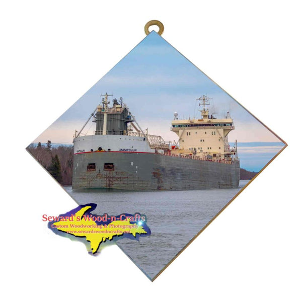 Great Lakes Freighter Wall Art Manitoulin Gifts & Collectibles For Boat Fans