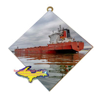 Great Lakes Freighter Wall Art Spruceglen