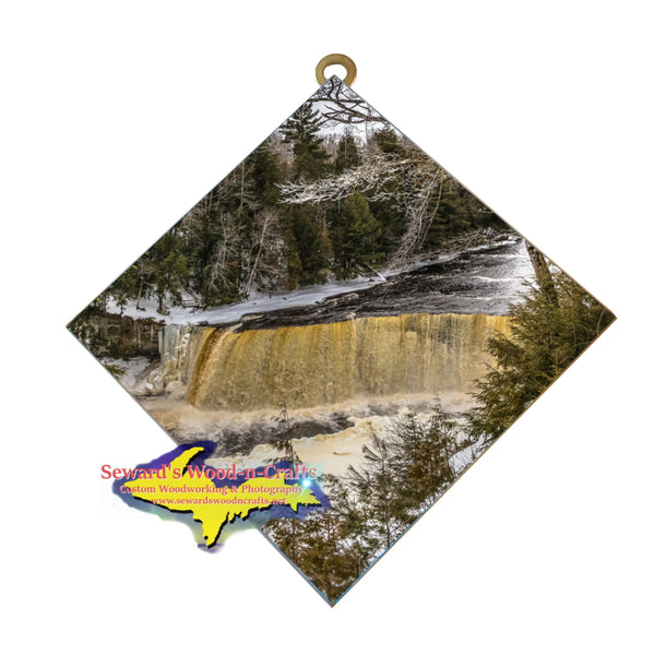 Hanging Tile ~ Upper Tahquamenon Falls -6040  Michigan Gifts