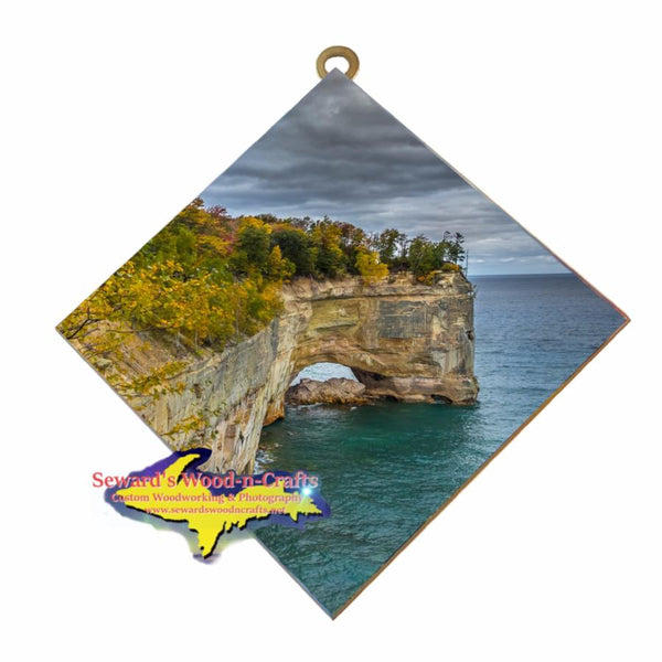 Pictured Rocks Grand Portal Wall Art Affordable Michigan Gifts