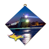 Great Lakes Freighter Gifts John Munson Wall Art Photo Tile For Boat Lovers