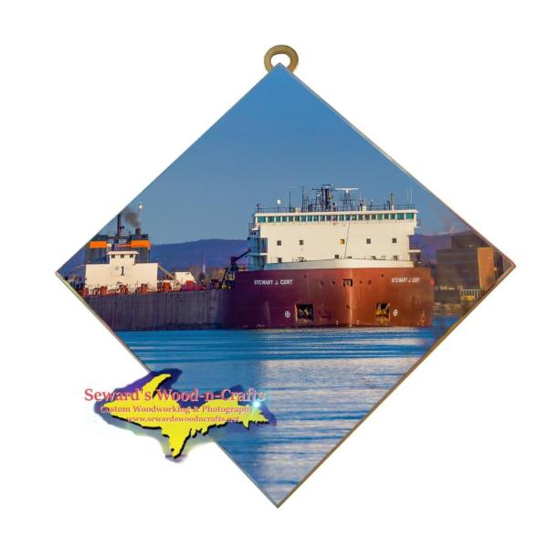 Lake Freighter Stewart Cort Best Photo Tiles For Ship Fans
