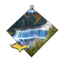 Upper Tahquamenon Waterfalls Michigan's Upper Peninsula Art On Tile Home Decor And Office Decor