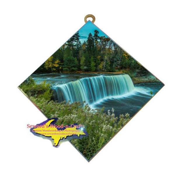 Michigan Made Upper Tahquamenon Waterfalls Wall Art Home Decor