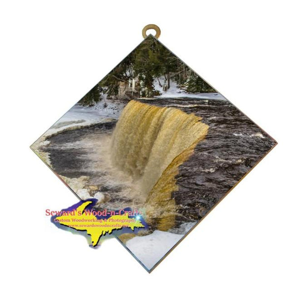 Upper Tahquamenon Waterfalls Winter Michigan's Upper Peninsula Art Home Office Decor