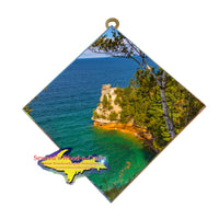 Pictured Rocks Collectable Gifts Miners Castle Wall Art Memorabilia