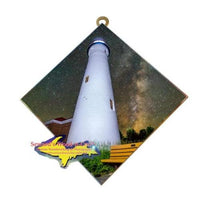 Michigan Made Wall Art Crisp Point Lighthouse New Photo Tiles