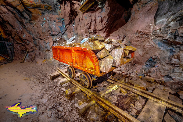 Michigan Photography Quincy Mine Ore Cart Keweenaw Peninsula Photos