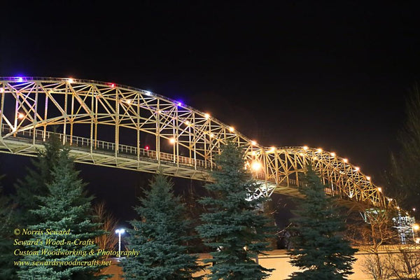 International Bridge Sault Ste. Marie, Michigan Photo Image For Sale