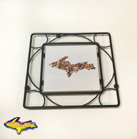 Beautiful Michigan's Upper Peninsula Trivet for Home or Cabin