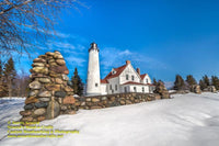 Michigan Lighthouse Photography Point Iroquois Light Photo Upper Peninsula Imgaes