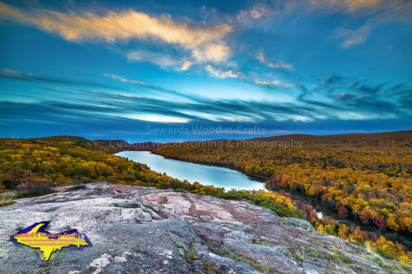 Michigan Landscape Photography Lake Of The Clouds Porcupine Mountains Autumn Colors