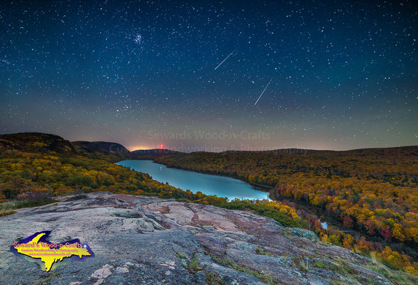 Michigan Landscape Photography Falling Star Lake Of The Clouds Photos