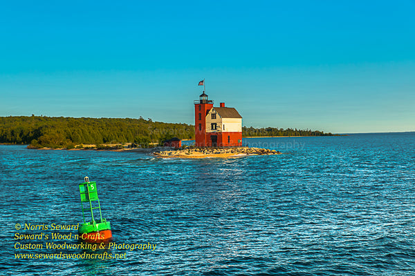 Michigan Landscape Photography Round Island Lighthouse