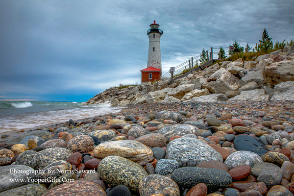 Michigan Photography  Crisp Point Lighthouse Michigan Lighthouses