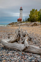 Michigan Photography Crisp Point Lighthouse along the shores of Lake Superior
