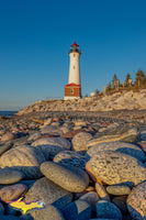 Michigan Landscape Photography Crisp Point Lighthouse Along The Shoreline Of Lake Superior