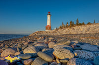 Michigan Landscape Photography Crisp Point Lighthouse on Lake Superior
