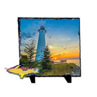 Crisp Point Lighthouse Michigan's Upper Peninsula Photo Gifts And Collectibles