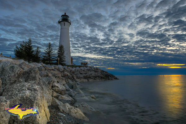 Michigan Landscape Photography Crisp Point Lighthouse Sunset