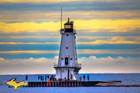 Michigan Landscape Photography Ludington North Pierhead Lighthouse Ludington Michigan