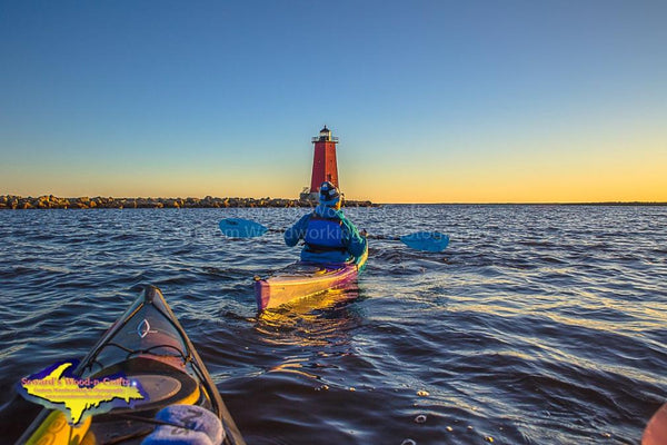 Kayaking Manistique Michigan's Upper Peninsula Photography