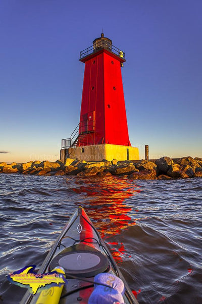 Michigan's Upper Peninsula Photography Manistique Lighthouse Kayaking