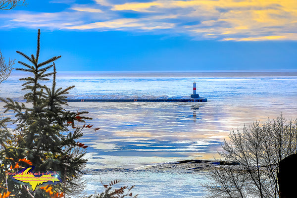 Michigan Photography Petoskey Pierhead Light Photo Home Office Decor