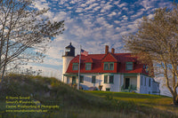 Michigan Photography Point Betsie Lighthouse Photo Frankfort Michigan Home Office Decor