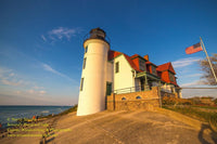 Michigan Photography Point Betsie Lighthouse Frankfort Michigan