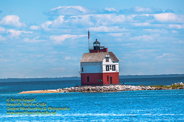 Michigan Photography Round Island Lighthouse Straits of Mackinac
