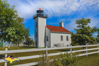 Michigan Landscape Photography Sand Point Lighthouse Escanaba, Michigan