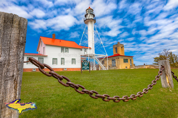 Michigan LIghthouses Whitefish Point Lighthouse Great Lakes Shipwreck Museum Paradise, Michigan