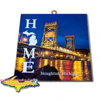 Houghton Wall Art Michigan's Upper Peninsula Photo Tiles & Prints