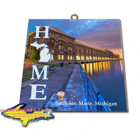 Home is Sault Ste. Marie Michigan Wall Art & Prints