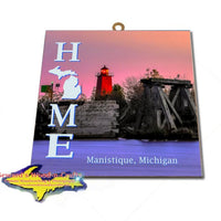 Home is Manistique Michigan Wall Art & Prints