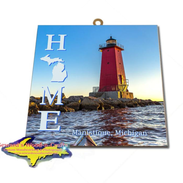 Manistique Michigan Upper Peninsula Wall Art