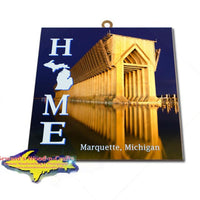 Home Is Marquette Michigan Wall Art & Prints
