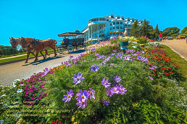 Michigan Landscape Photography The Grand Hotel on Mackinac Island Best Priced Photos & Gifts