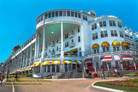 Michigan Landscape Photography Grand Hotel on Mackinac Island