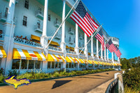 Michigan Photography The Grand Hotel on Mackinac Island