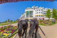 Grand Hotel on Mackinac Island Michigan Landscape Photography