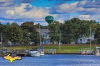 Michigan's Upper Peninsula Photography Manistique City River Front Harbor