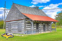 Michigan's Upper Peninsula Photography Manistique Schoolcraft County Museum Log Cabin